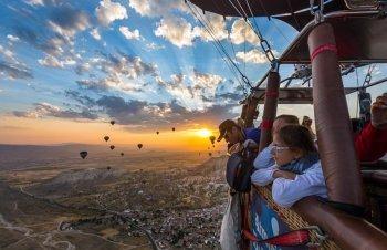 Полет на воздушном шаре в группе Львов