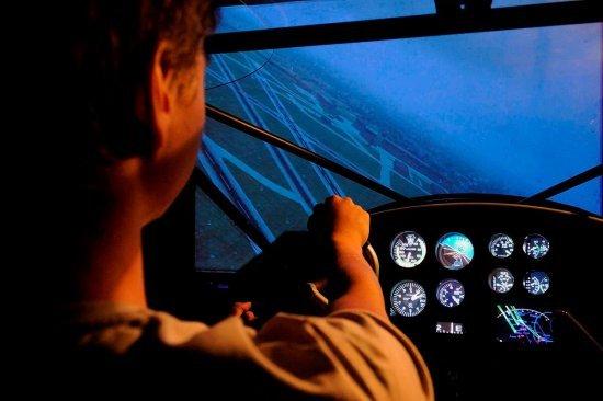 Полет на авиасимуляторе Аэропракт А22