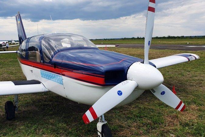 Полет на самолете Socata в Луцке