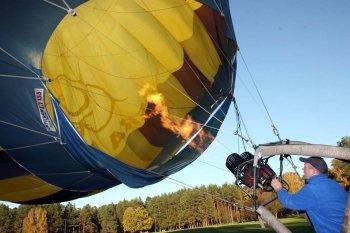 Політ на повітряній кулі в Дніпрі