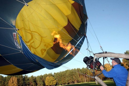 Полет на воздушном шаре в Днепре
