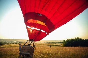Полет на воздушном шаре в Запорожье