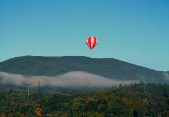 Полет на воздушном шаре Свалява