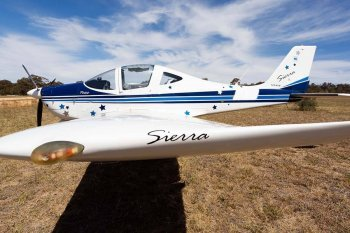 Тренировочный полет на самолете Tecnam