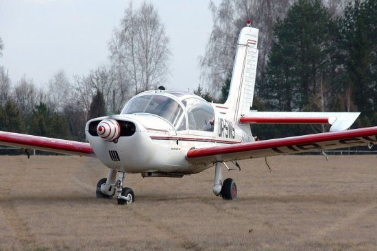 Полет на самолете Socata в Тернополе