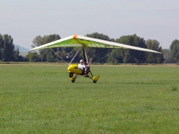 Полет на мотодельтаплане в Житомире