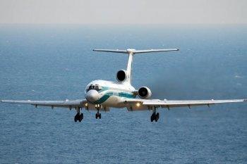 Полет на авиасимуляторе самолета Ту-154