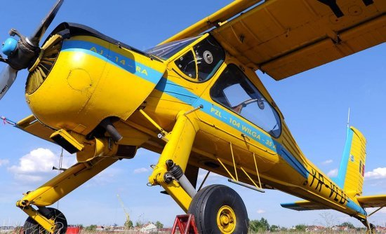 Полет на самолете Вильга в Виннице