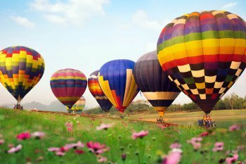 VIP політ на повітряній кулі