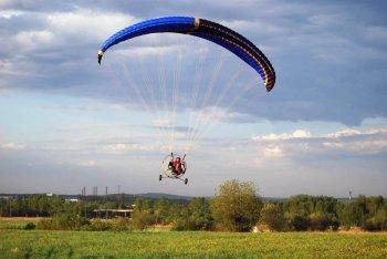 Полет на паратрайке в Одессе