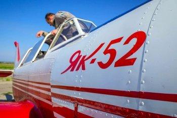Полет на самолете ЯК-52 в Запорожье