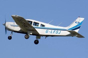 Полет на самолете Пайпер в Харькове