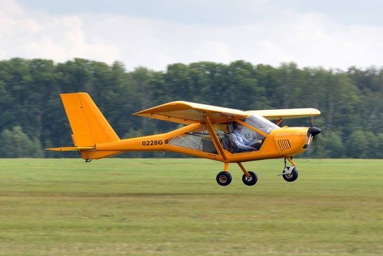 Політ на літаку А22 Чернівці