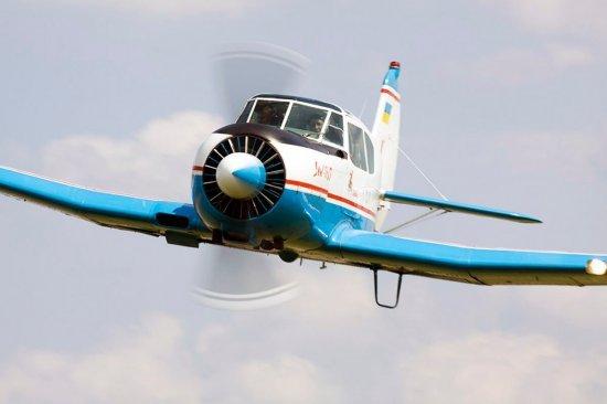 Політ на літаку ЯК 18Т в Житомирі